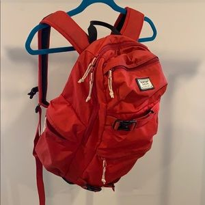 Burton Red Backpack